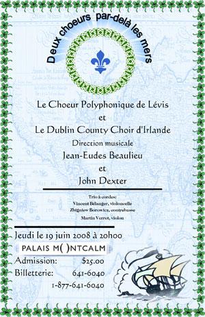 Quebec 2008 Poster